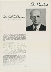 Page 17, 1939 Edition, Chapman University - Ceer Yearbook (Orange, CA) online yearbook collection