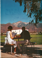 Page 5, 1965 Edition, Chaffey College - Argus Yearbook (Rancho Cucamonga, CA) online yearbook collection