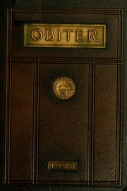 1923 Edition, Bloomsburg University - Obiter Yearbook (Bloomsburg, PA)