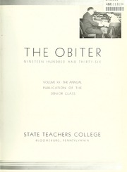 Page 7, 1936 Edition, Bloomsburg University - Obiter Yearbook (Bloomsburg, PA) online yearbook collection