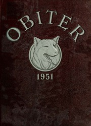 Page 1, 1951 Edition, Bloomsburg University - Obiter Yearbook (Bloomsburg, PA) online yearbook collection