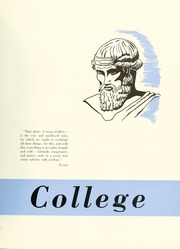 Page 11, 1952 Edition, Bloomsburg University - Obiter Yearbook (Bloomsburg, PA) online yearbook collection