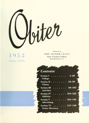Page 7, 1952 Edition, Bloomsburg University - Obiter Yearbook (Bloomsburg, PA) online yearbook collection