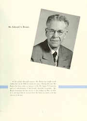 Page 9, 1952 Edition, Bloomsburg University - Obiter Yearbook (Bloomsburg, PA) online yearbook collection