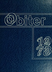 1978 Edition, Bloomsburg University - Obiter Yearbook (Bloomsburg, PA)