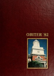 Page 1, 1982 Edition, Bloomsburg University - Obiter Yearbook (Bloomsburg, PA) online yearbook collection