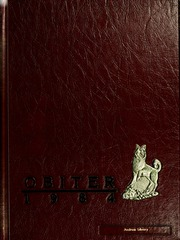 1984 Edition, Bloomsburg University - Obiter Yearbook (Bloomsburg, PA)