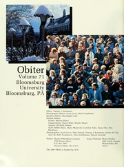 Page 6, 1987 Edition, Bloomsburg University - Obiter Yearbook (Bloomsburg, PA) online yearbook collection