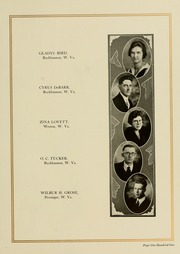 Page 109, 1923 Edition, West Virginia Wesleyan College - Murmurmontis Yearbook (Buckhannon, WV) online yearbook collection