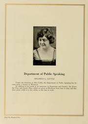 Page 110, 1923 Edition, West Virginia Wesleyan College - Murmurmontis Yearbook (Buckhannon, WV) online yearbook collection