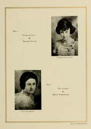 Page 111, 1923 Edition, West Virginia Wesleyan College - Murmurmontis Yearbook (Buckhannon, WV) online yearbook collection