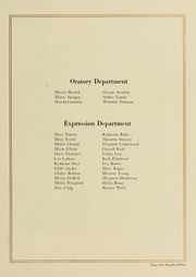 Page 113, 1923 Edition, West Virginia Wesleyan College - Murmurmontis Yearbook (Buckhannon, WV) online yearbook collection