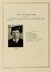 Page 124, 1923 Edition, West Virginia Wesleyan College - Murmurmontis Yearbook (Buckhannon, WV) online yearbook collection