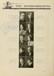Page 102, 1929 Edition, West Virginia Wesleyan College - Murmurmontis Yearbook (Buckhannon, WV) online yearbook collection
