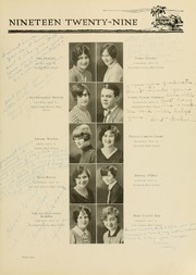 Page 103, 1929 Edition, West Virginia Wesleyan College - Murmurmontis Yearbook (Buckhannon, WV) online yearbook collection