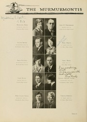 Page 104, 1929 Edition, West Virginia Wesleyan College - Murmurmontis Yearbook (Buckhannon, WV) online yearbook collection