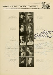 Page 105, 1929 Edition, West Virginia Wesleyan College - Murmurmontis Yearbook (Buckhannon, WV) online yearbook collection