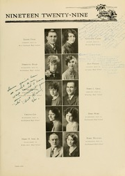 Page 107, 1929 Edition, West Virginia Wesleyan College - Murmurmontis Yearbook (Buckhannon, WV) online yearbook collection