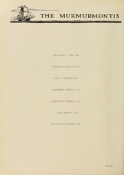 Page 62, 1929 Edition, West Virginia Wesleyan College - Murmurmontis Yearbook (Buckhannon, WV) online yearbook collection