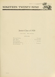 Page 63, 1929 Edition, West Virginia Wesleyan College - Murmurmontis Yearbook (Buckhannon, WV) online yearbook collection