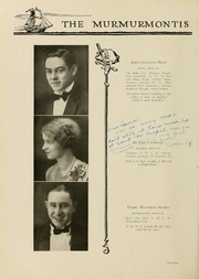 Page 70, 1929 Edition, West Virginia Wesleyan College - Murmurmontis Yearbook (Buckhannon, WV) online yearbook collection
