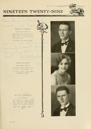 Page 71, 1929 Edition, West Virginia Wesleyan College - Murmurmontis Yearbook (Buckhannon, WV) online yearbook collection