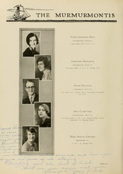 Page 90, 1929 Edition, West Virginia Wesleyan College - Murmurmontis Yearbook (Buckhannon, WV) online yearbook collection