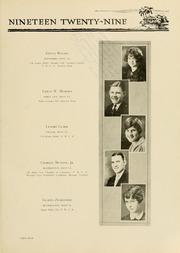 Page 91, 1929 Edition, West Virginia Wesleyan College - Murmurmontis Yearbook (Buckhannon, WV) online yearbook collection