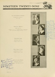 Page 95, 1929 Edition, West Virginia Wesleyan College - Murmurmontis Yearbook (Buckhannon, WV) online yearbook collection