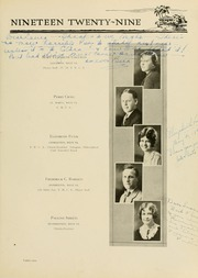 Page 97, 1929 Edition, West Virginia Wesleyan College - Murmurmontis Yearbook (Buckhannon, WV) online yearbook collection
