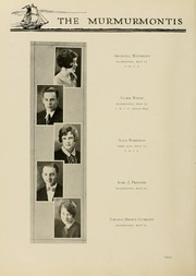 Page 98, 1929 Edition, West Virginia Wesleyan College - Murmurmontis Yearbook (Buckhannon, WV) online yearbook collection