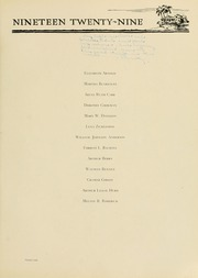 Page 99, 1929 Edition, West Virginia Wesleyan College - Murmurmontis Yearbook (Buckhannon, WV) online yearbook collection