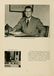 Page 12, 1951 Edition, West Virginia Wesleyan College - Murmurmontis Yearbook (Buckhannon, WV) online yearbook collection