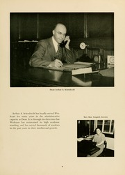 Page 13, 1951 Edition, West Virginia Wesleyan College - Murmurmontis Yearbook (Buckhannon, WV) online yearbook collection