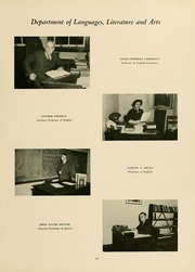 Page 15, 1951 Edition, West Virginia Wesleyan College - Murmurmontis Yearbook (Buckhannon, WV) online yearbook collection