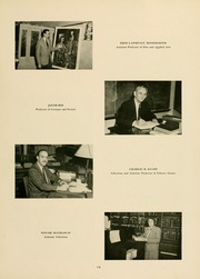 Page 17, 1951 Edition, West Virginia Wesleyan College - Murmurmontis Yearbook (Buckhannon, WV) online yearbook collection