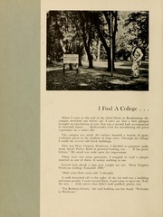 Page 10, 1953 Edition, West Virginia Wesleyan College - Murmurmontis Yearbook (Buckhannon, WV) online yearbook collection