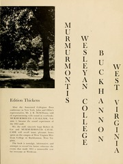 Page 7, 1953 Edition, West Virginia Wesleyan College - Murmurmontis Yearbook (Buckhannon, WV) online yearbook collection
