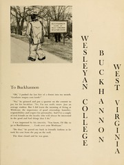 Page 9, 1953 Edition, West Virginia Wesleyan College - Murmurmontis Yearbook (Buckhannon, WV) online yearbook collection