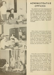 Page 10, 1955 Edition, West Virginia Wesleyan College - Murmurmontis Yearbook (Buckhannon, WV) online yearbook collection