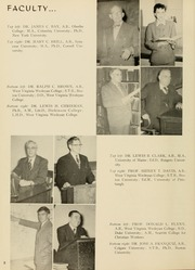 Page 12, 1955 Edition, West Virginia Wesleyan College - Murmurmontis Yearbook (Buckhannon, WV) online yearbook collection