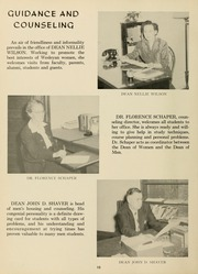 Page 14, 1955 Edition, West Virginia Wesleyan College - Murmurmontis Yearbook (Buckhannon, WV) online yearbook collection