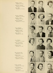 Page 17, 1955 Edition, West Virginia Wesleyan College - Murmurmontis Yearbook (Buckhannon, WV) online yearbook collection