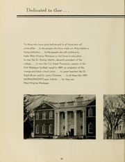 Page 14, 1959 Edition, West Virginia Wesleyan College - Murmurmontis Yearbook (Buckhannon, WV) online yearbook collection