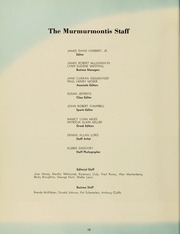 Page 16, 1959 Edition, West Virginia Wesleyan College - Murmurmontis Yearbook (Buckhannon, WV) online yearbook collection