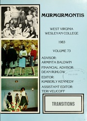Page 5, 1983 Edition, West Virginia Wesleyan College - Murmurmontis Yearbook (Buckhannon, WV) online yearbook collection