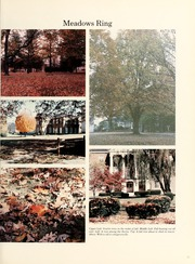 Page 15, 1986 Edition, West Virginia Wesleyan College - Murmurmontis Yearbook (Buckhannon, WV) online yearbook collection