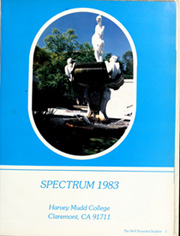 Page 5, 1983 Edition, Harvey Mudd College - Spectrum Yearbook (Claremont, CA) online yearbook collection