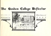 Page 9, 1907 Edition, Goshen College - Maple Leaf Yearbook (Goshen, IN) online yearbook collection