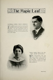 Page 11, 1917 Edition, Goshen College - Maple Leaf Yearbook (Goshen, IN) online yearbook collection